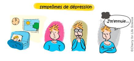 Troubles bipolaires vivre-avec-la-maladie Situations particulières trouble bipolaire Symptôme dépression