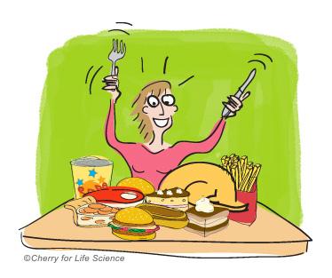 Les troubles alimentaires <a href
